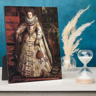 Elizabeth I Peace Portrait Plaque