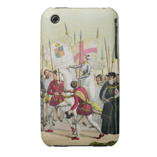 Elizabeth I, plate 12 from 'The History of the Nat iPhone 3 Case-Mate Cases