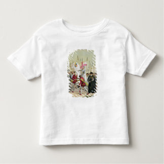 Elizabeth I, plate 12 from 'The History of the Nat Toddler T-shirt