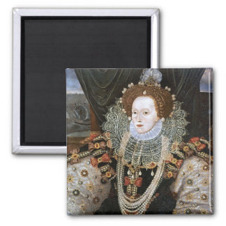 Elizabeth I Portrait Refrigerator Magnet