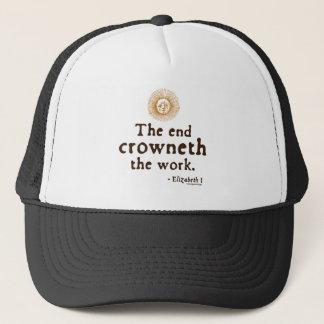 Elizabeth I Quote on Work Trucker Hat