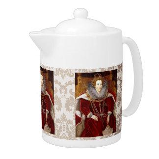 Elizabeth I Red Robes