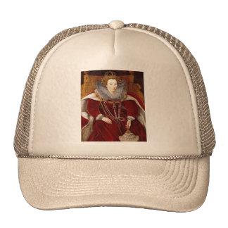 Elizabeth I Red Robes Hats
