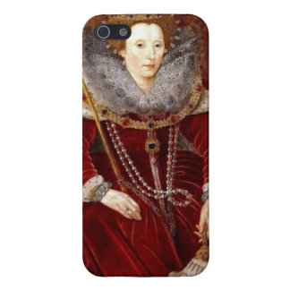 Elizabeth I Red Robes iPhone SE/5/5s Cover
