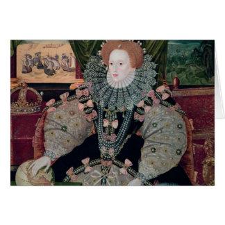 Elizabeth I, retrato de la armada, c.1588 Tarjeta De Felicitación