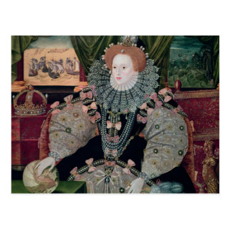 Elizabeth I, retrato de la armada, c.1588 Postal