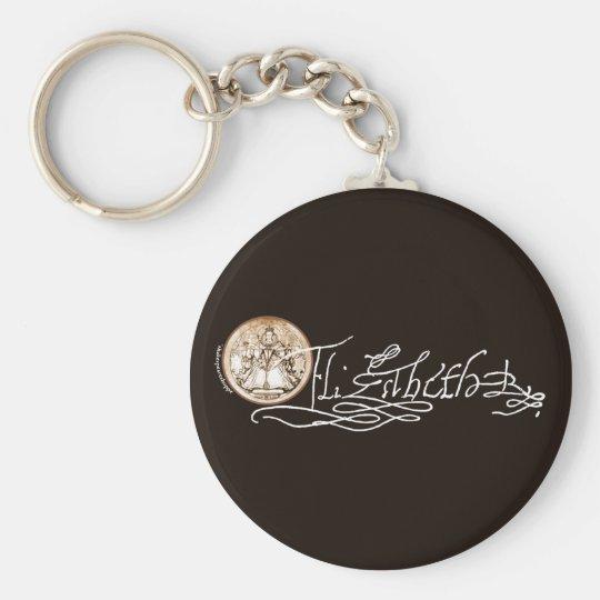 Elizabeth I Signature (Version 2) Keychain
