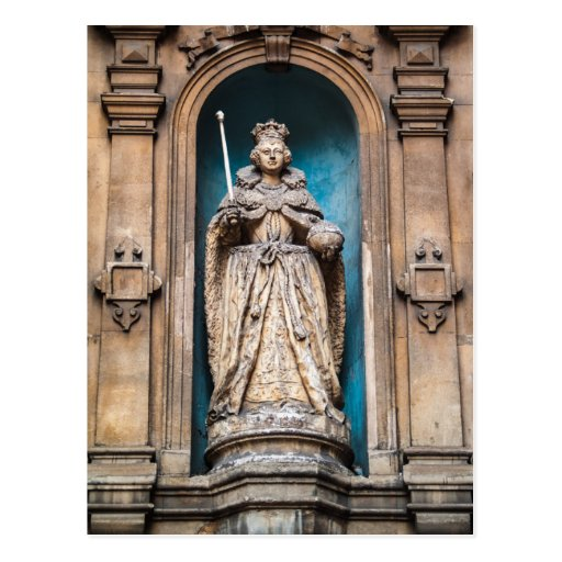 Elizabeth I Statue at St Dunstan in the West Post Cards