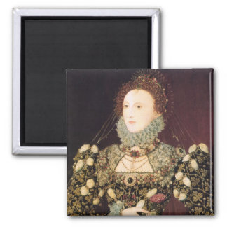 Elizabeth I the Phoenix Refrigerator Magnets