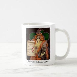 Elizabeth I, the Poodor Queen Mug