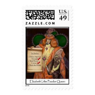 Elizabeth I, the Poodor Queen Postage