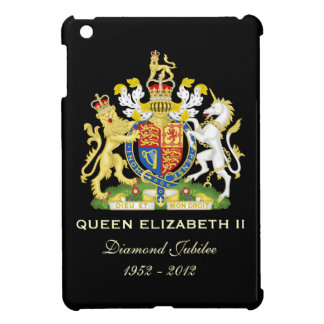 Elizabeth II Diamond Jubilee iPad Mini Case Black