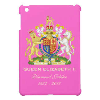 Elizabeth II Diamond Jubilee iPad Mini Case (Pink)