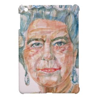 elizabeth II - watercolor portrait iPad Mini Case