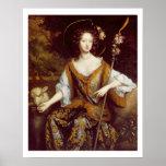 Elizabeth Jones, condesa de Kildare, c.1684 (aceit Impresiones