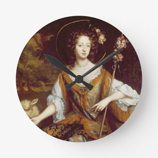 Elizabeth Jones, Countess of Kildare, c.1684 (oil Wall Clocks