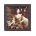 Elizabeth Jones, Countess of Kildare, c.1684 (oil Premium Trinket Box