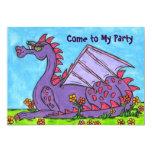 Elizabeth la invitación del fiesta del dragón