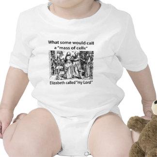 Elizabeth llamó a mi señor trajes de bebé
