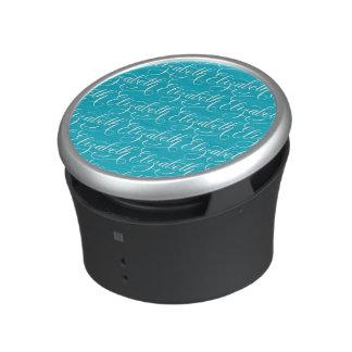 Elizabeth - Modern Calligraphy Name Design Bluetooth Speaker