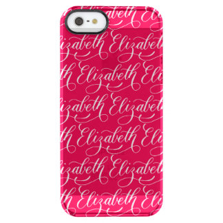 Elizabeth - Modern Calligraphy Name Design Clear iPhone SE/5/5s Case