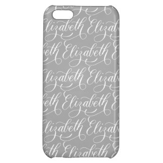 Elizabeth - Modern Calligraphy Name Design iPhone 5C Cases