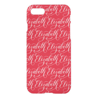 Elizabeth - Modern Calligraphy Name Design iPhone 7 Case