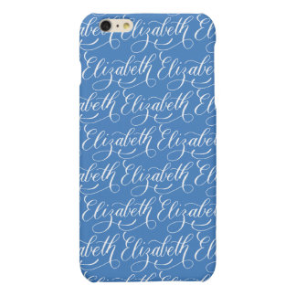 Elizabeth - Modern Calligraphy Name Design Matte iPhone 6 Plus Case