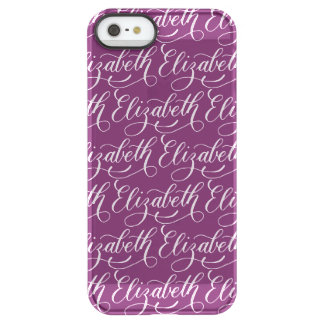 Elizabeth - Modern Calligraphy Name Design Permafrost® iPhone SE/5/5s Case