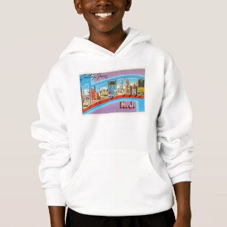 Elizabeth New Jersey NJ Vintage Travel Postcard- Hoodie