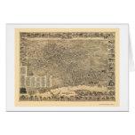 Elizabeth, NJ Panoramic Map - 1898 Card