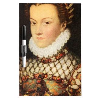 Elizabeth of Austria, Queen of France Dry-Erase Board