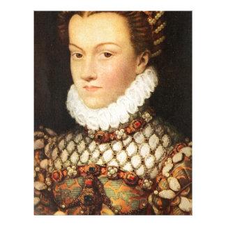 Elizabeth of Austria, Queen of France Letterhead