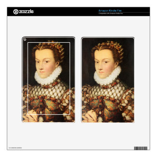 Elizabeth of Austria, Queen of France Skin For Kindle Fire