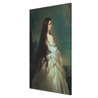Elizabeth of Bavaria Canvas Print