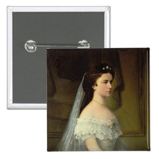 Elizabeth of Bavaria , Empress of Austria Pinback Button