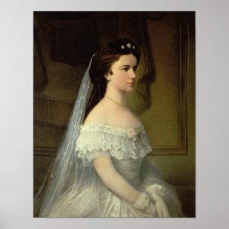 Elizabeth of Bavaria , Empress of Austria Poster