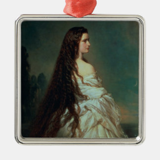 Elizabeth of Bavaria Metal Ornament