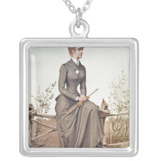 Elizabeth of Bavaria Silver Plated Necklace