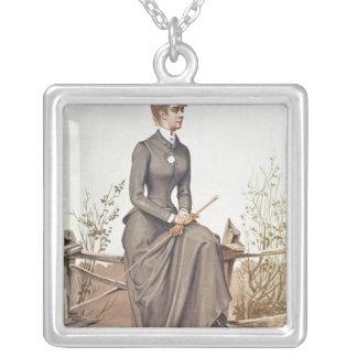 Elizabeth of Bavaria Silver Plated Necklace