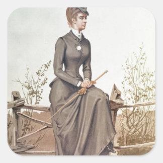 Elizabeth of Bavaria Square Sticker