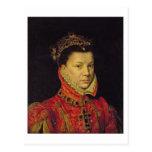 Elizabeth of Valois (1545-68) 1570 (oil on canvas) Postcard