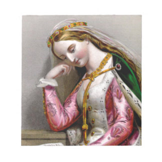 Elizabeth of York Notepad
