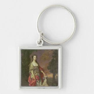 Elizabeth que dispara contra, duquesa de Hamilton, Llavero