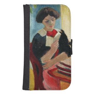 Elizabeth Reading Phone Wallet