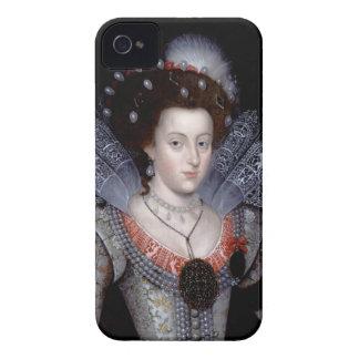 Elizabeth, reina del invierno de Bohemia iPhone 4 Carcasa