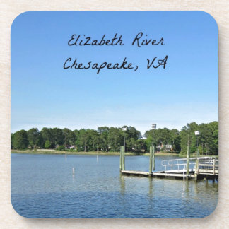 Elizabeth River, Chesapeake, Virginia Drink Coasters