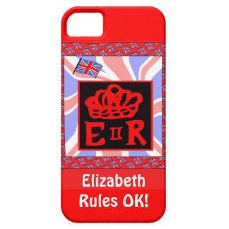 Elizabeth Rules, OK! iPhone SE/5/5s Case