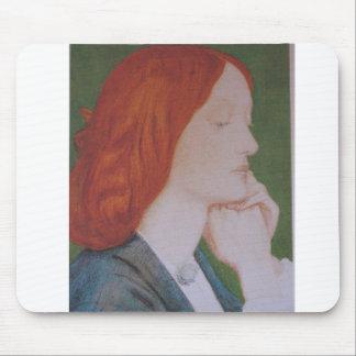Elizabeth  Siddal - Poetry Mouse Pad