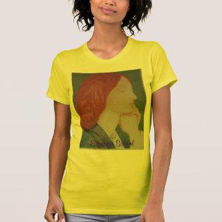 Elizabeth  Siddal - Poetry T-Shirt